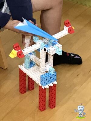 アーテックブロックでいろんなロボットが作れるよ