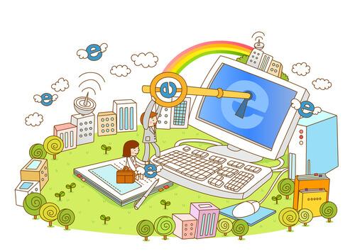 webデザイナーとパソコン